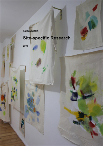 Ausstellung: Site-specific Research, Kirsten Kötter